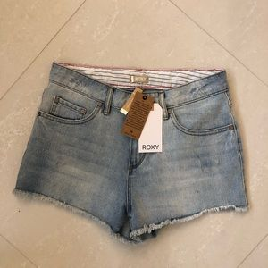 ROXY Denim mid waist Shorts